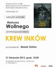 Spotkanie autorskie Mariusza Wollnego